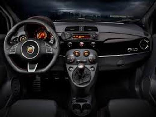 Fastest Abarth Interior