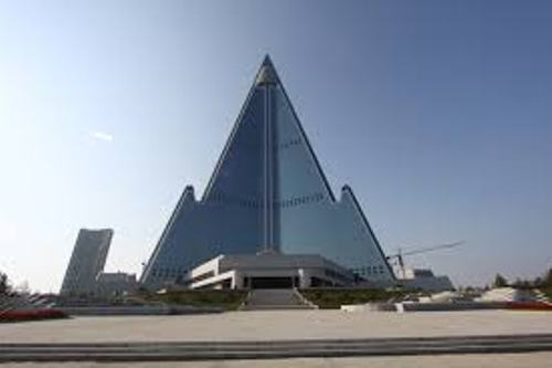 The Ryugyong (North Korea)
