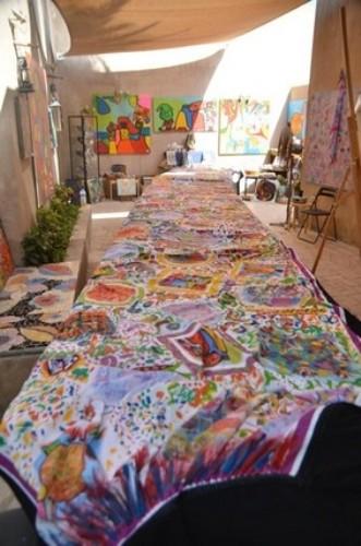 largest abaya art