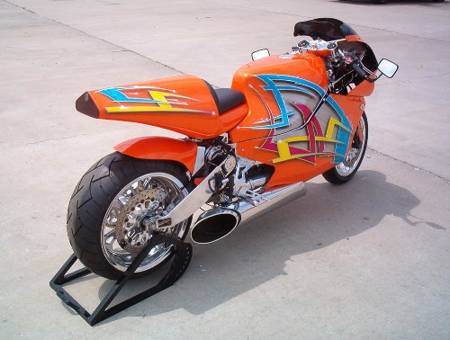 Fastest Accelerating Bike MTT