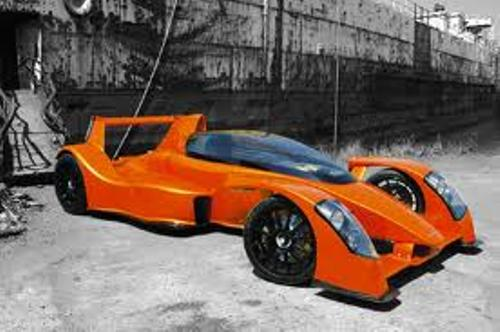 Fastest Accelerating Car Caparo T1 2007