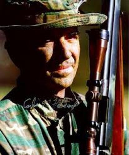 Gunnery Sergeant Carlos Hathcock